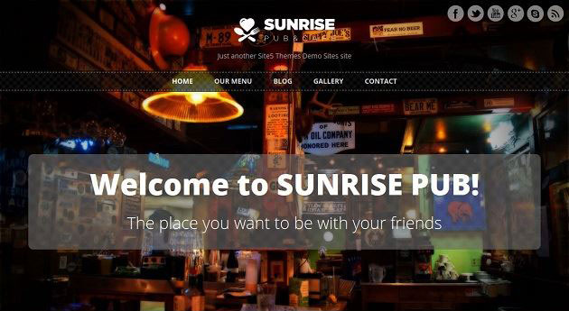 Sunrise-Free-Responsive-WordPress-Theme