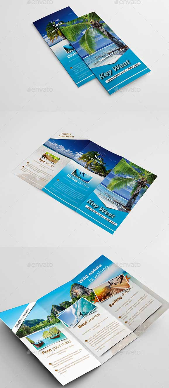 Tourist Brochure Template. Brochure · Mexico Travel Brochure