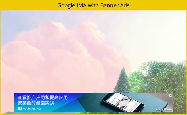 Video-Ads-Player-with-Google-IMA-VAST-VPAID