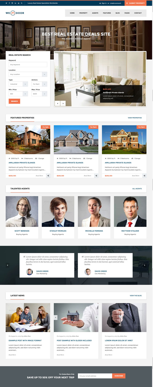 Wedoor-Responsive-Real-Estate-HTML-Template