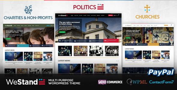 Westand - Multi Purpose WordPress Theme