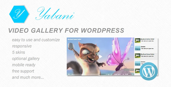 Yabani - Video Gallery for WordPress