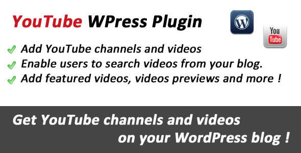 YouTube Videos for WordPress