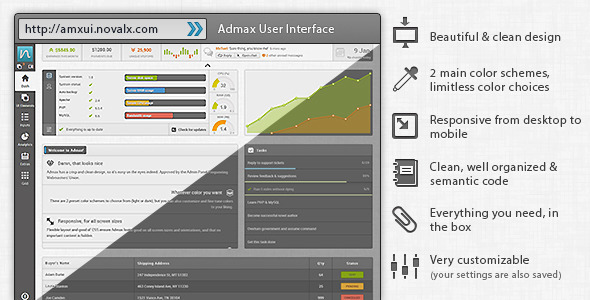 admax-user-interface