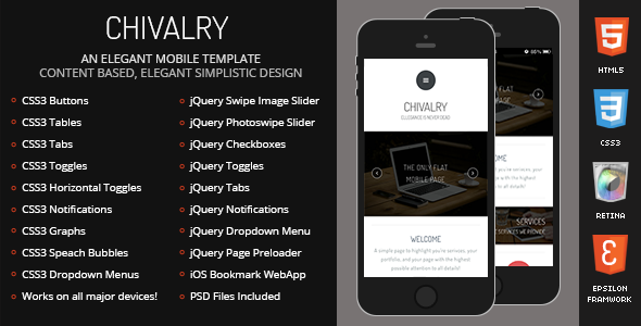 chivalry-mobile-retina-html5-css3-and-iwebapp