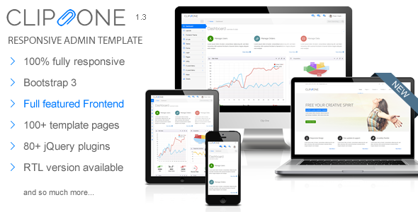clipone-bootstrap-3-responsive-admin-template