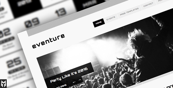 eventure-responsive-events-wp-theme