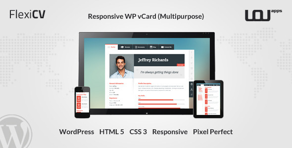 flexicv-responsive-wp-vcard-multipurpose