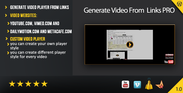 generate-video-from-links-pro-wordpress-plugin