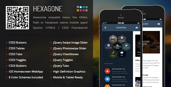 hexagone-mobile-retina-html5-css3-with-webapp
