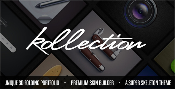 kollection-3d-folding-portfolio-theme