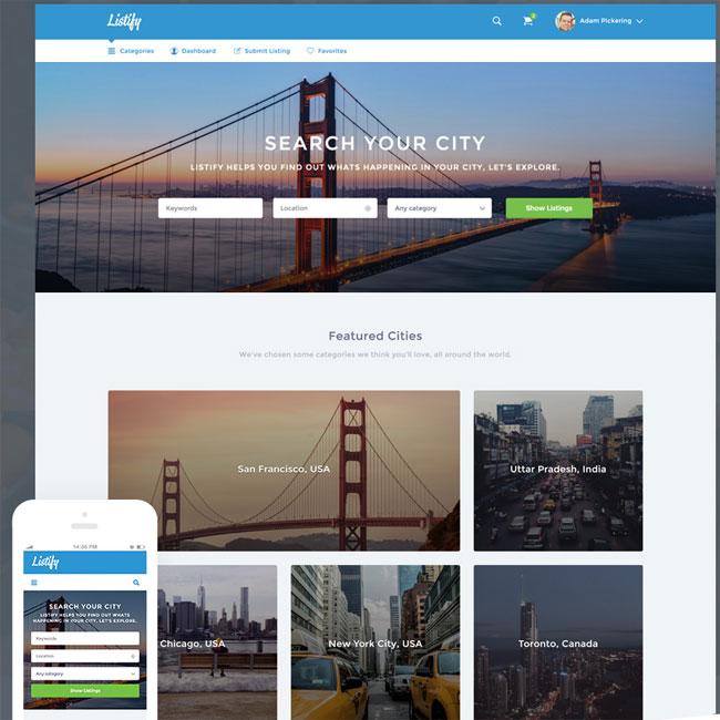 listify-wordpress-directory-theme