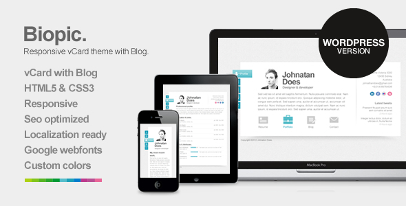 35  best responsive vcard wordpress themes