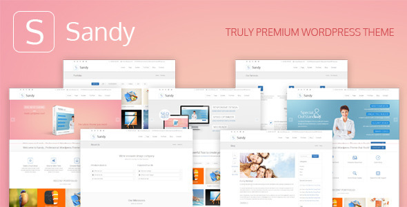 sandy-truly-premium-wordpress-theme