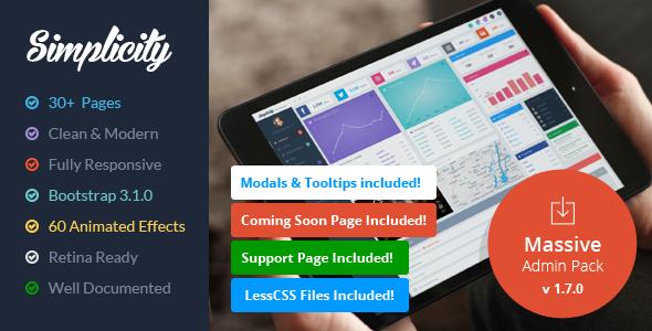 simplicity-responsive-massive-admin-pack