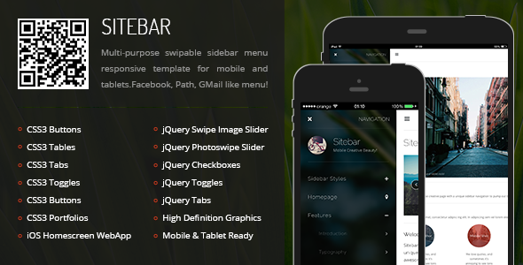 sitebar-mobile-tablet-responsive-template