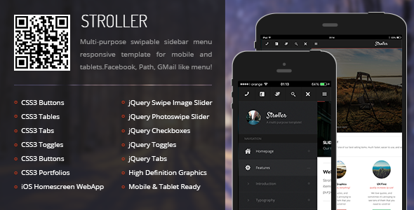 stroller-mobile-tablet-responsive-template