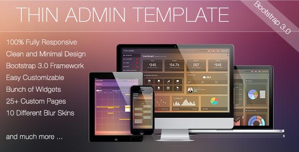 thin-admin-template