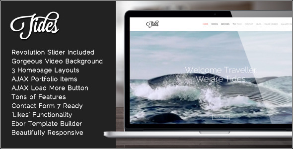 tides-fullscreen-video-onepage-wordpress-theme