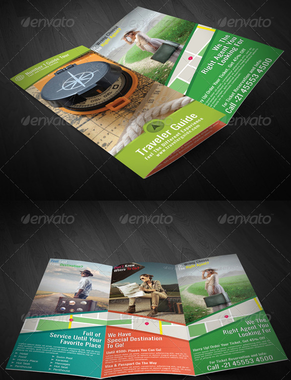 traveler-guide-trifold-brochure