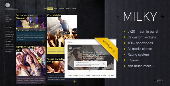 wordpress-milky-musicbusinessportfolio-theme