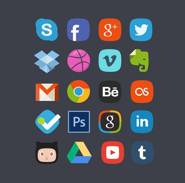 20-social-media-badges