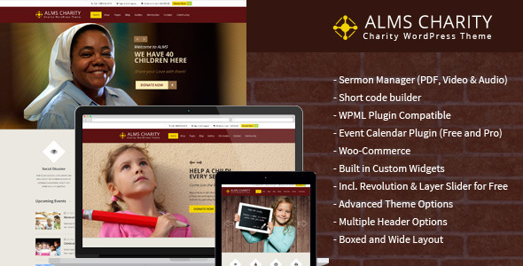 Alms - Church & Multipurpose Responsive Theme
