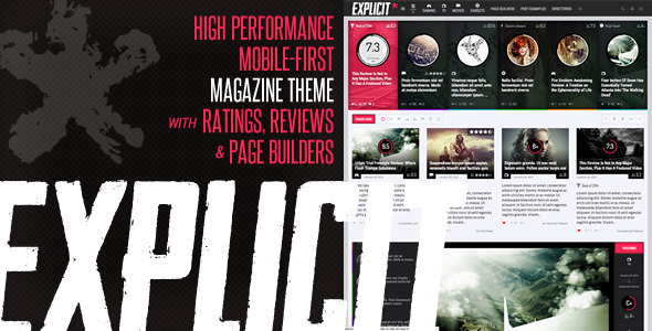Explicit - High Performance Review-Magazine Theme