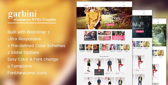 Garbini - Bootstrap eCommerce Template