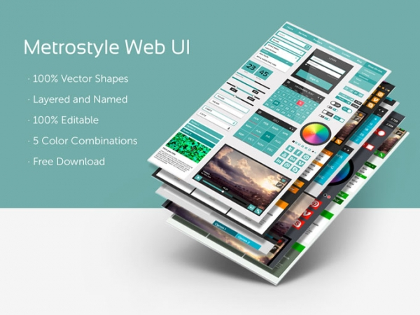 Metrostyle-Web-UI-Kit