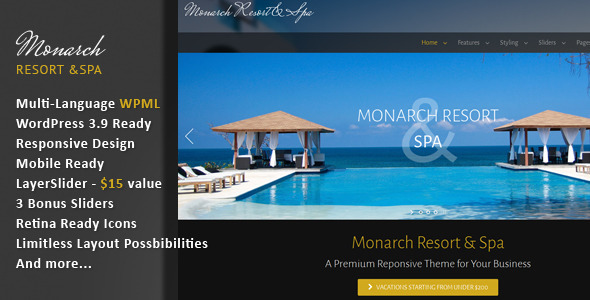 Monarch - Responsive Multi-Language Theme