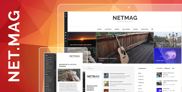 NetMag - Clean Review Magazine Theme