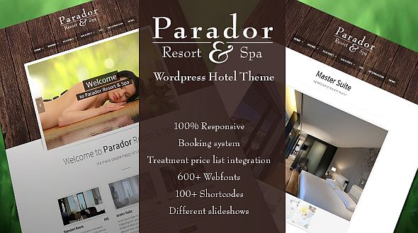 Parador – Premium WordPress Hotel Theme
