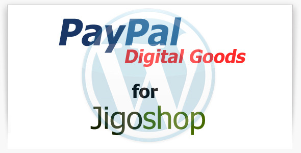 PayPal Digital Goods Gateway for Jigoshop