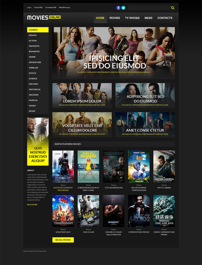 Responsive-Online-Cinema-WordPress-Theme
