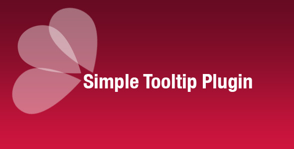 Simple Tooltip Plugin