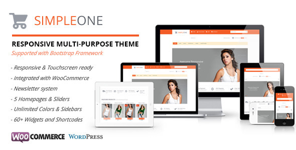 Simpleone-Responsive Multi-Purpose WordPress Theme