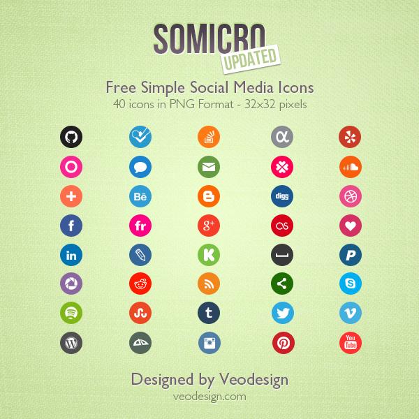 Somicro-40-Free-Social-Media-Icons
