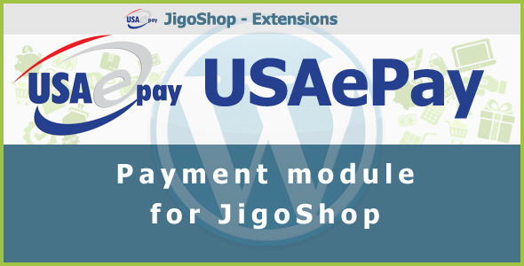 USAePay Payment Gateway for JigoShop