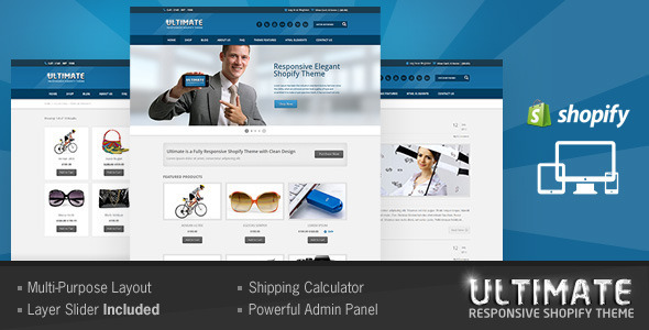 Ultimate - Responsive Shopify Theme
