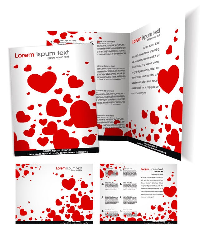 Vector-Brochure-Template-with-Love-Heart