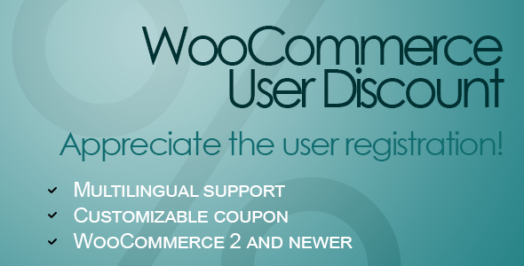 WooCommerce User Discount