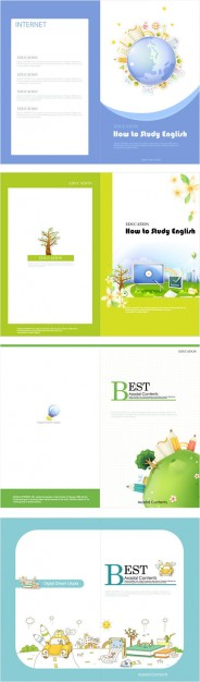 beautiful-brochure-vector