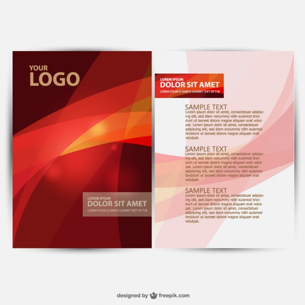 brochure-design-vector