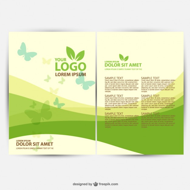 brochure-ecology-template