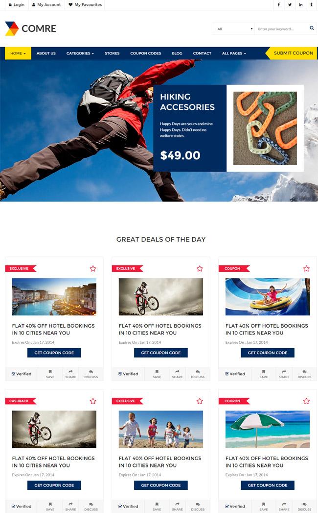 comre-coupon-codes-affiliates-wordpress-theme