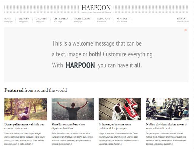 harpoon-multioptions-responsive-wp-theme