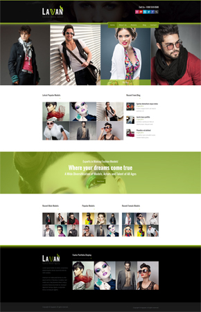 lavan-fashion-model-agency-wordpress-cms-theme