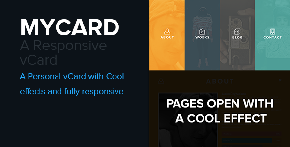 30  best html responsive virtual business card templates 2015