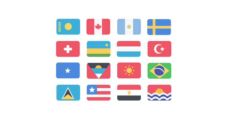 195-flat-flags